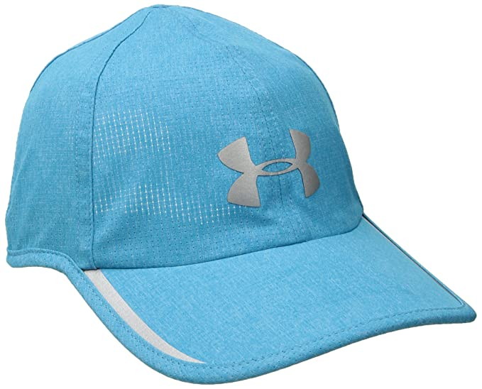 buy online 28dec 46ffc Amazon.com  Under Armour Men s Shadow ArmourVent Cap, Blue Shift Medium He  (929) Silver, One Size  Clothing
