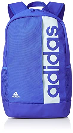 e9ded1f57b adidas Performance Linear School Travel Gym Backpack Rucksack Bag - Blue