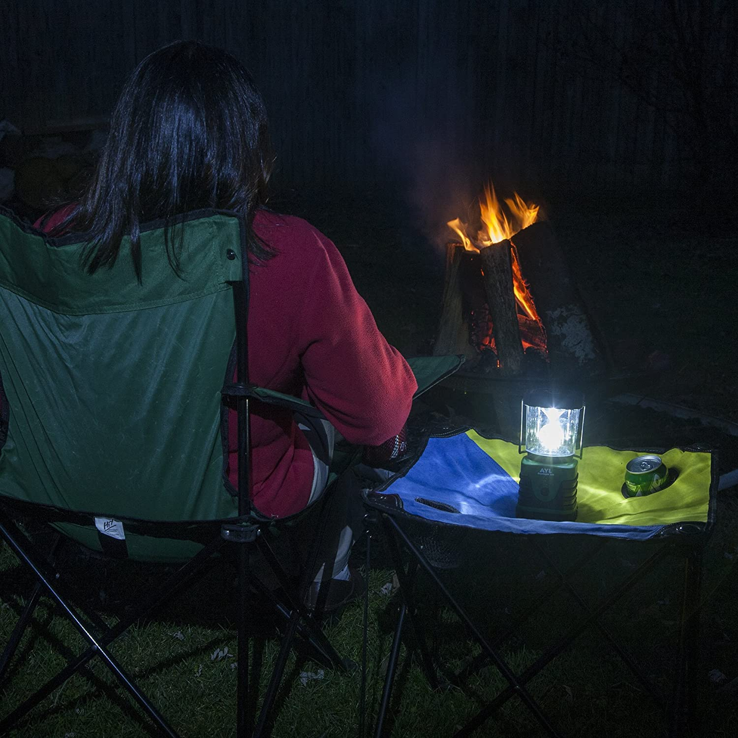 AYL Starlight - Water Resistant - Shock Proof - Battery Powered Ultra Long Lasting Up to 6 Days Straight - 1000 Lumens Ultra Bright LED Lantern - Perfect Camping Lantern for Hiking, Camping : Sports & Outdoors