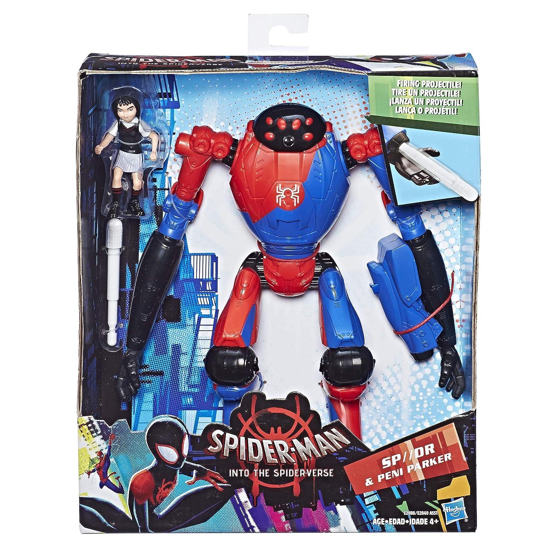 Into The Spider-Verse SP////Dr /& Peni Parker 6-Scale Super Hero Figure Toy Hasbro E2888 Spider-Man