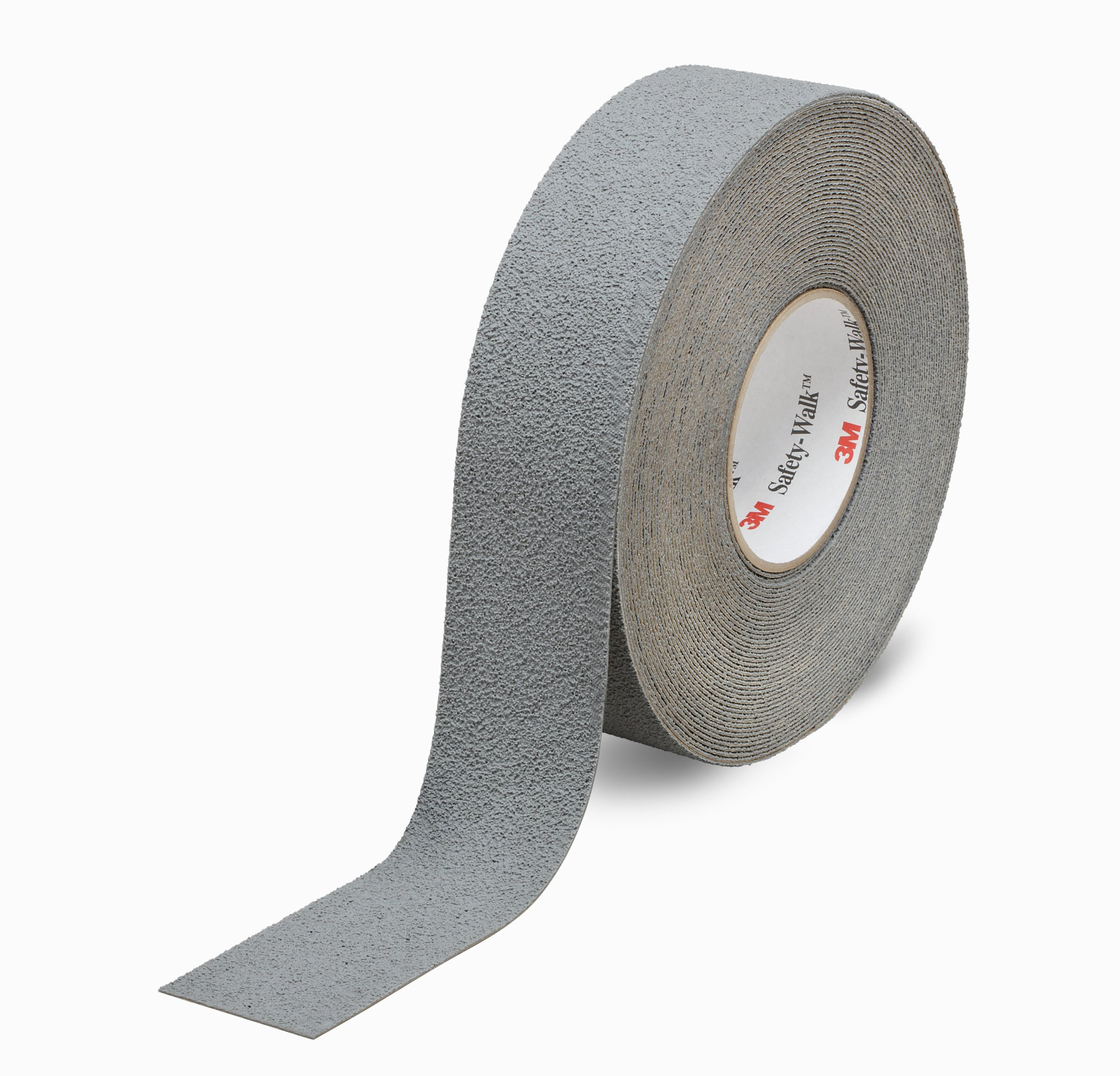3M Safety-Walk Slip-Resistant Medium Resilient Tapes and Treads 370, Gray, 4'' Width, 60' Length (Pack of 1 Roll)