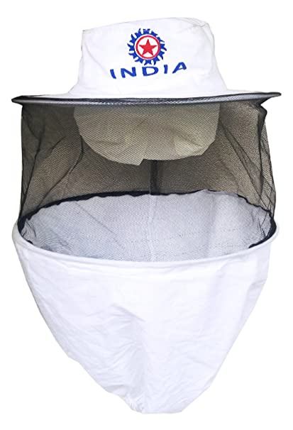 Hi-tech Natural Products (India) Bee Veil, White: Amazon in: Garden
