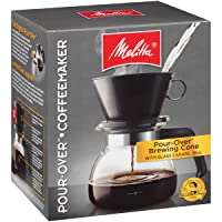 Deals on Melitta 6-Cup Pour Over Coffee Brewer w/Glass Carafe