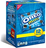 Oreo Mini Cookies Multipack, 12 count (Pack of 4)