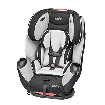 Amazon.com : Evenflo Symphony LX Car Seat, Crete : Convertible Child