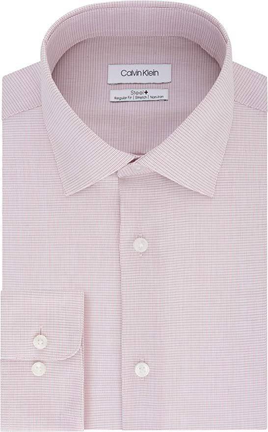 Calvin Klein 卡尔文克莱因 CK 细格子 男式长袖衬衫 2.9折$23.13 海淘转运到手约¥174