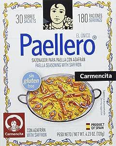 Carmencita Mezcla de Especias para Paella - 30 Sobres (02249)