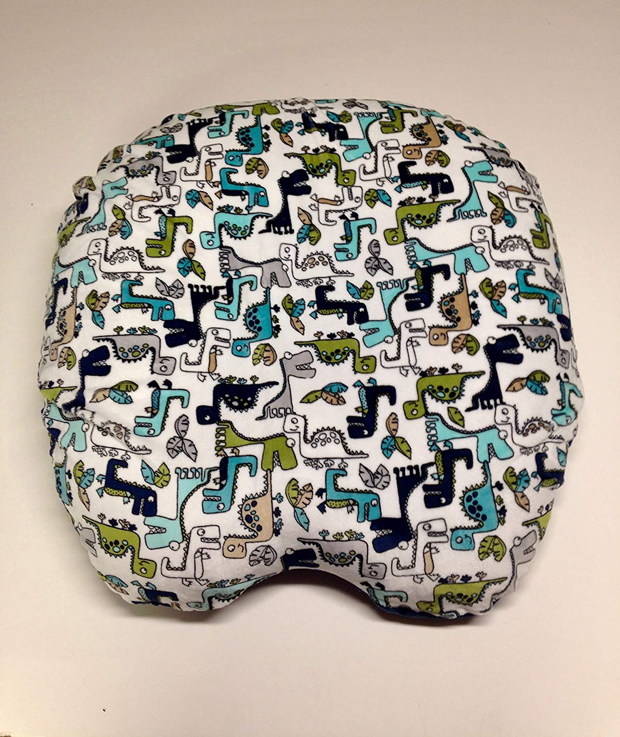 Customization Cover shows Roar Baby Lounger Pillow Cover You choose the Dimple Dot back Handmade boy /& girl. Many fabrics to choose from