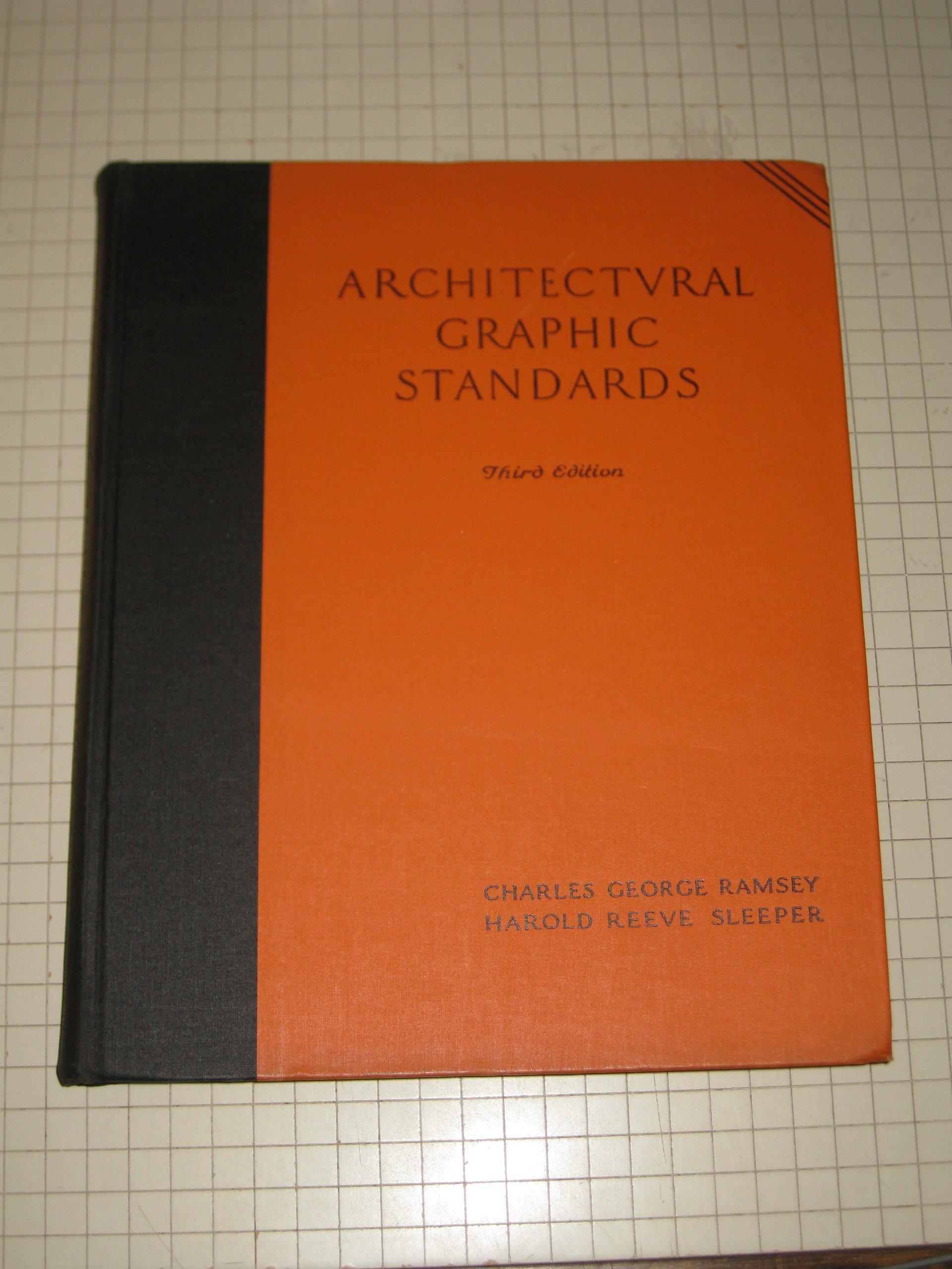 Architectural graphic standards third edition charles george and architectural graphic standards third edition charles george and harold reeve sleeper ramsey 9781127030613 amazon books fandeluxe Image collections