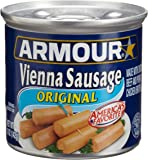 Armour Vienna Sausage, Original, 5-Ounce Cans (Pack of 48)