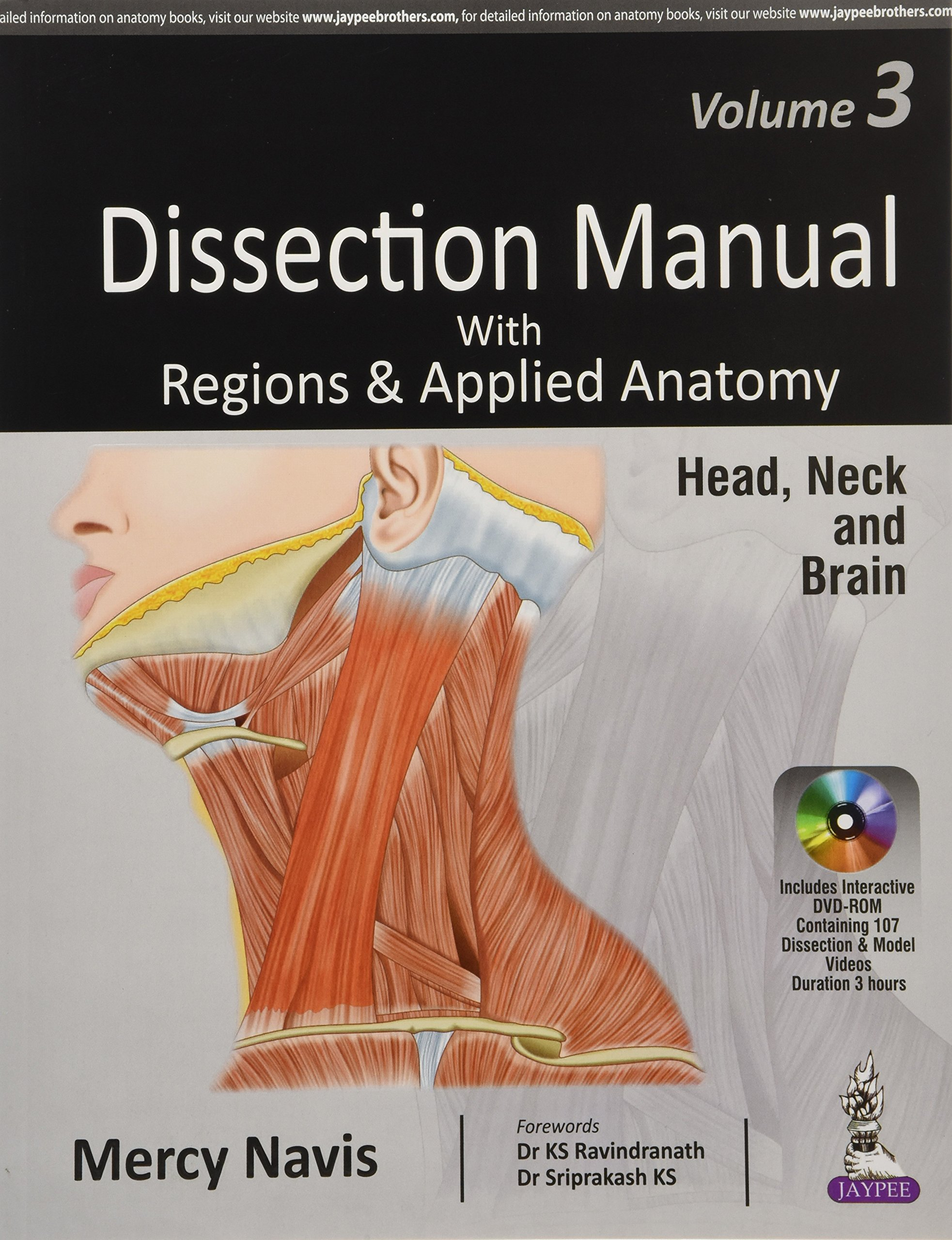 Buy Dissection Manual With Regions Applied Anatomy Head Neck
