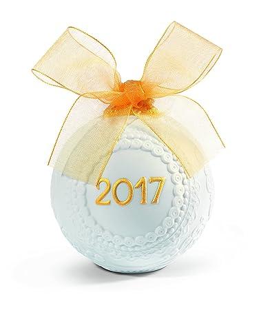 Lladro 2017 Christmas Ball Re-Deco Figure