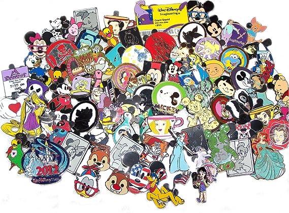 NO DUPLICATES Free Shipping! 50 Disney Trading Pin Lot You Choose Characters