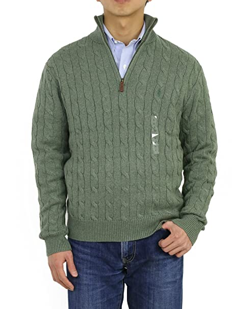buy popular d5b72 d1b8e Ralph Lauren - Maglione - Uomo Verde verde XXL: Amazon.it ...