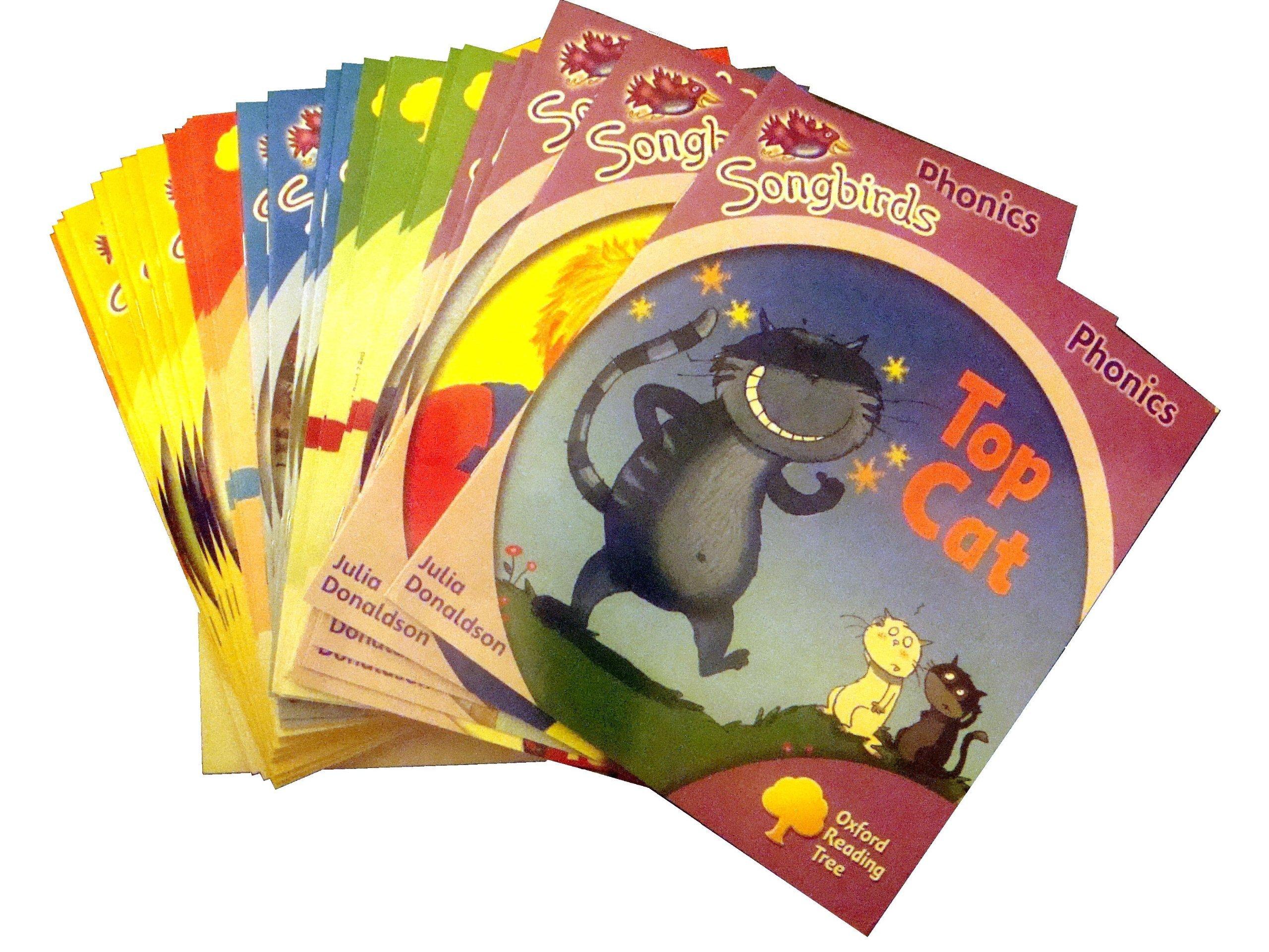 Oxford Reading Tree, Songbirds Phonics Collection 36-Books Set ...