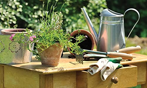 Esschert Design USA RB124 Doormat Potting Table