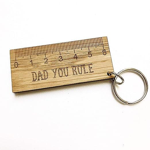 Manta Llavero con Texto en inglés Dad You Rule para Padres ...