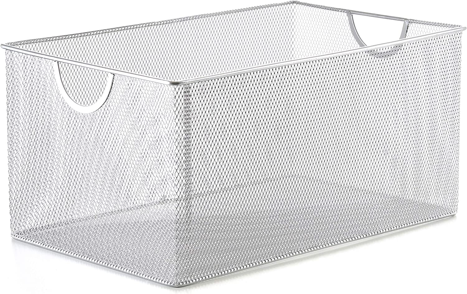 YBM Home 2321 Mesh Open Bin Storage Basket Organizer