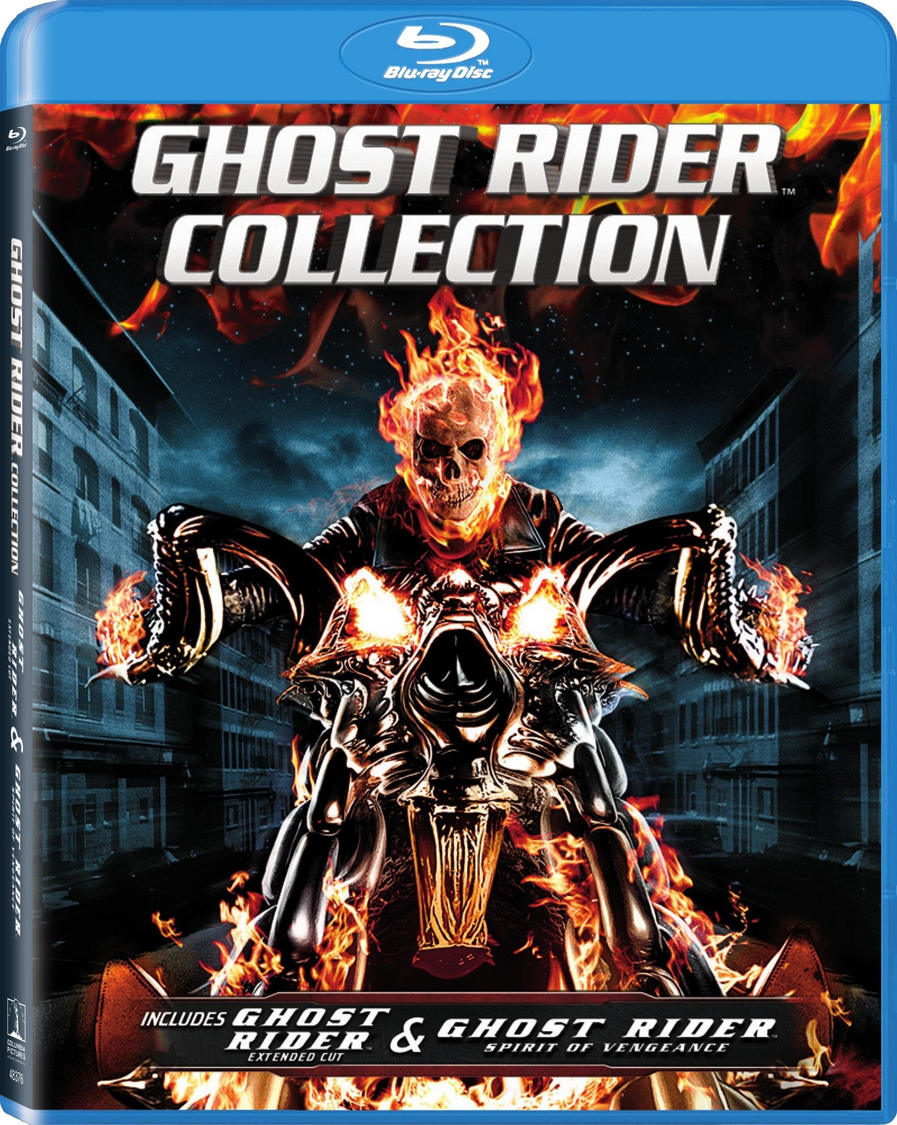Blu-ray : Ghost Rider/ Ghost Rider Spirit Of Vengeance (2 Pack, Widescreen, Dubbed, , Dolby)