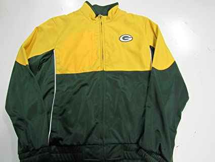 Image Unavailable. Image not available for. Color  Green Bay Packers Womens  Large Full Zip Embroidered Track Jacket ... 714b1bcad