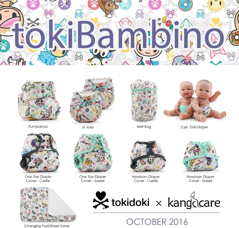 tokiBambino Kanga Care Rumparooz Snap Couverture pour nouveau-n/é Sweet