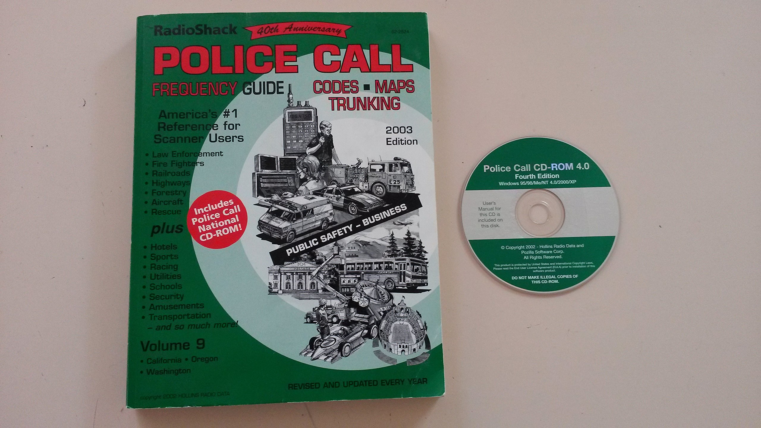 RadioShack Police Call Frequency Guide (America's #1 Reference for