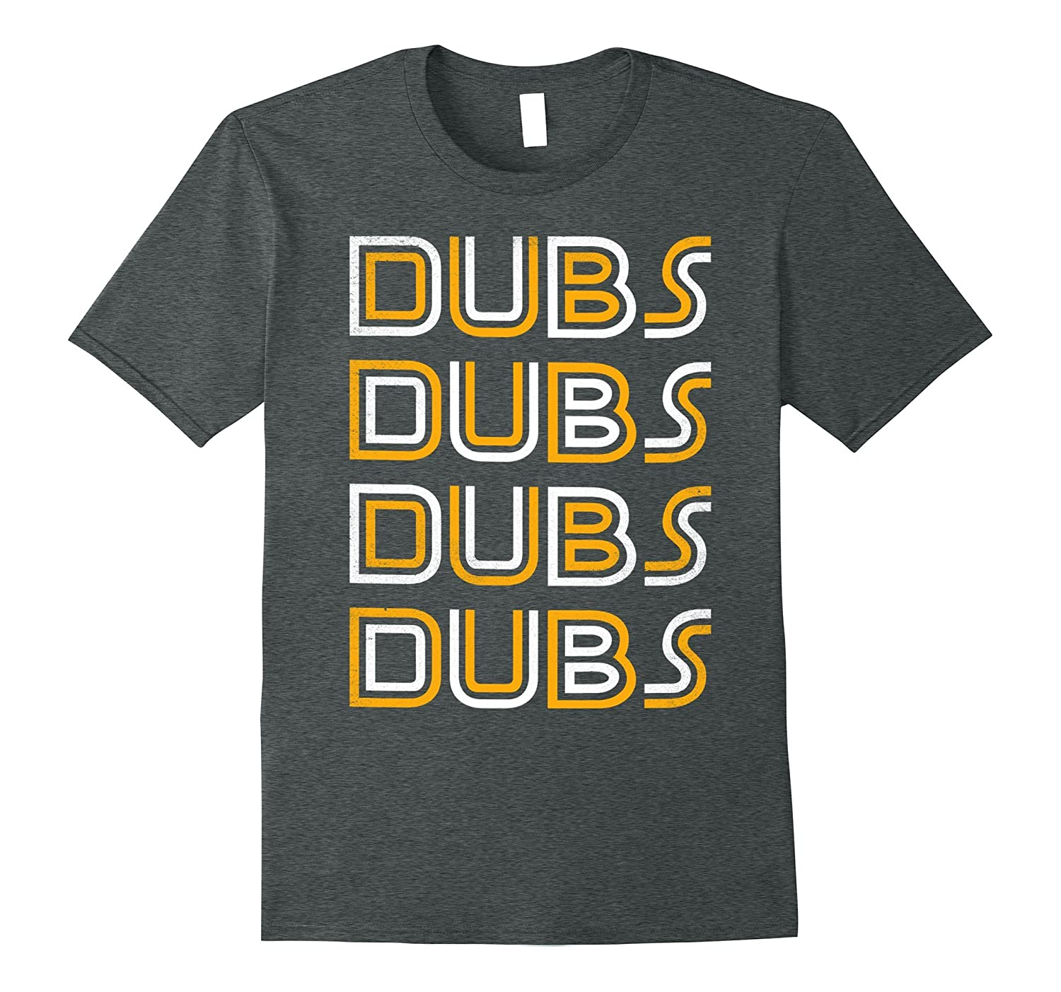 Golden State DUBS 2017 Champions throwback Dub Nation shirt-Art