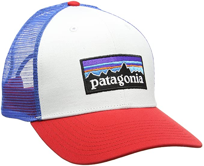 49d7fe627ed Patagonia Men s P-6 Logo Trucker Hat