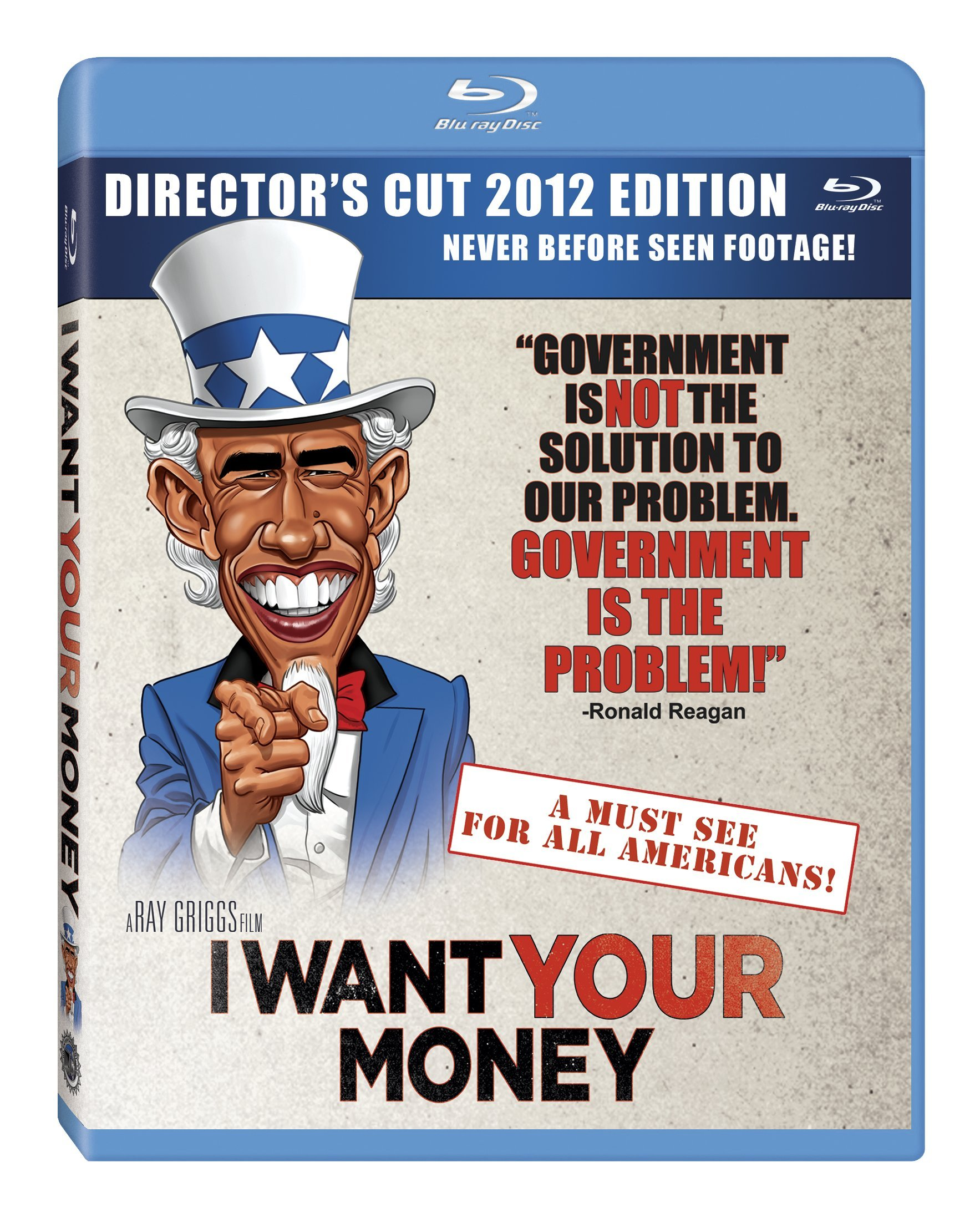 Blu-ray : I Want Your Money (Blu-ray)