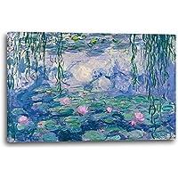Printed Paintings Stampa su Tela: Claude Monet - Ninfee