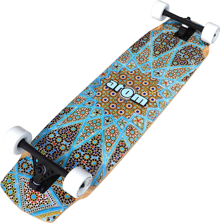 Atom Longboards Atom Freeride Downhill Longboard – 37 , Magic Carpet