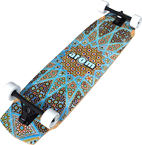 Atom Longboards Atom Freeride Downhill Longboard – 37 , Magic Carpet