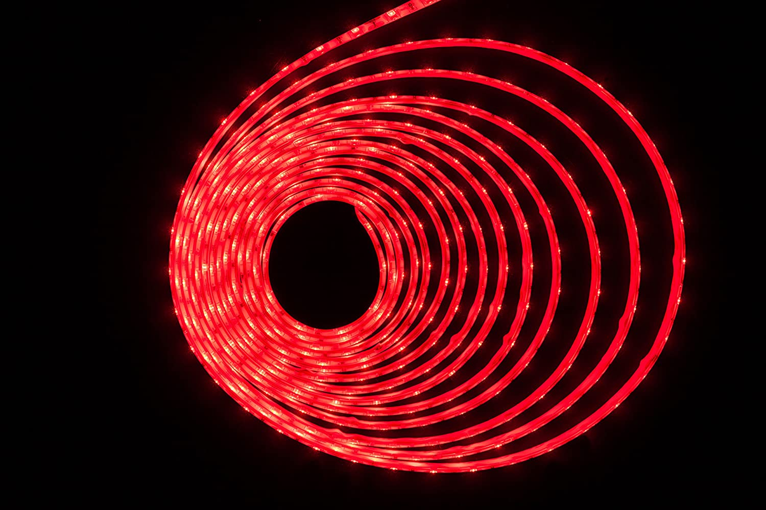 Hkbayi Super Bright 5m 5730 Smd Led Strip Flexible Light 12v Battery Level Indicator Circuit Bar Graph Circuits Waterproof 60led M Chip Than 5630 Red Home Kitchen
