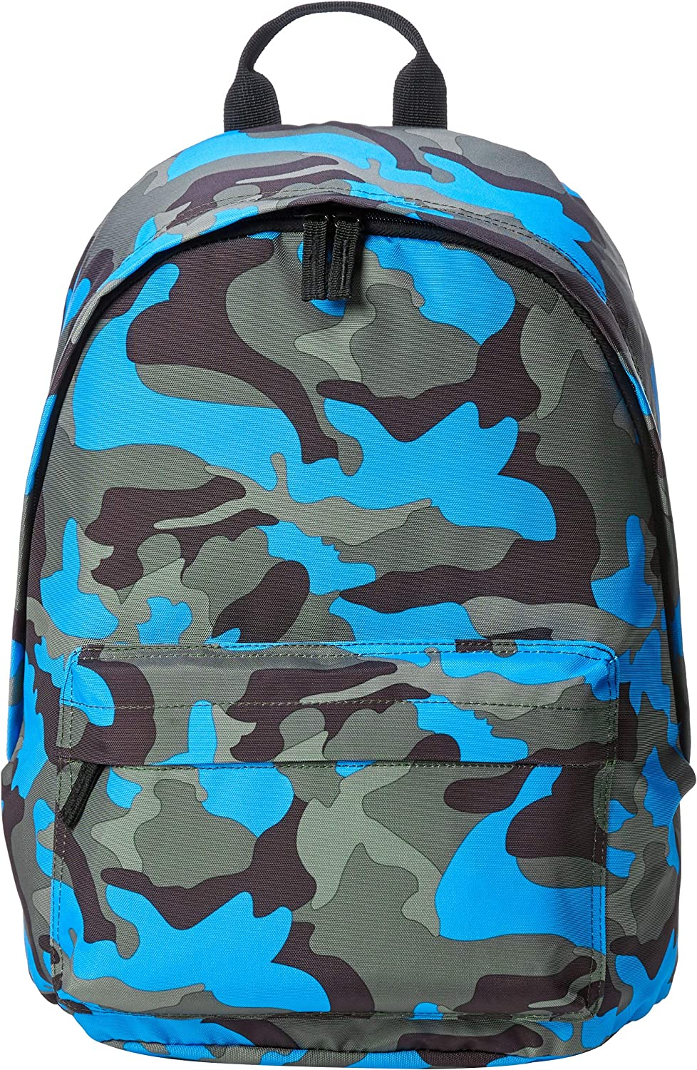 AmazonBasics Everyday School Laptop Backpack - Blue Camouflage