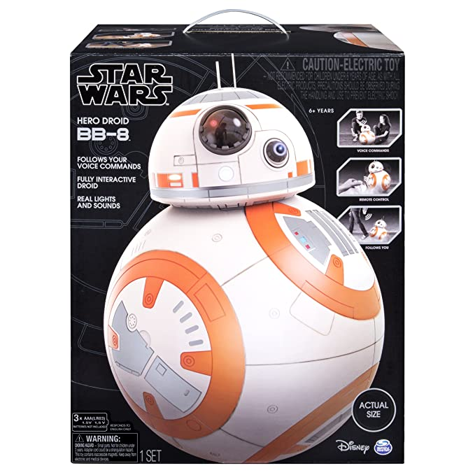 Amazon com: Star Wars - Hero Droid BB-8 - Fully Interactive