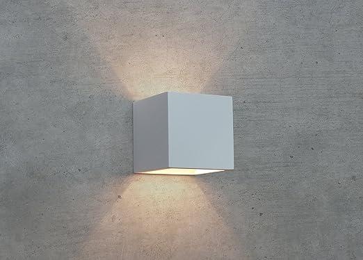 PanderLights CLEO 12 Wandleuchte Gips Lampe Leuchte Wandlampe Gipslampe  NEU: Amazon.de: Beleuchtung