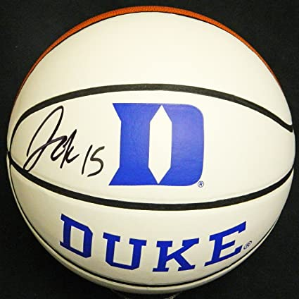 Image Unavailable. Image not available for. Color  Jahlil Okafor Signed  Duke Blue Devils Baden White Logo Basketball f63891c4a