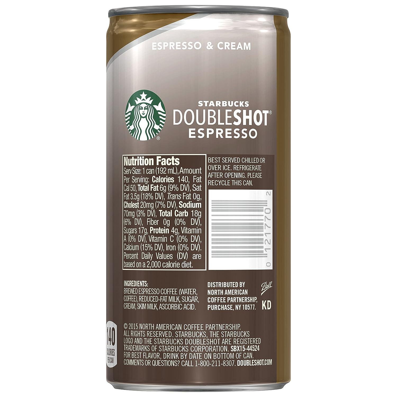 Starbucks Nutrition Flavor Shot - Nutrition Ftempo