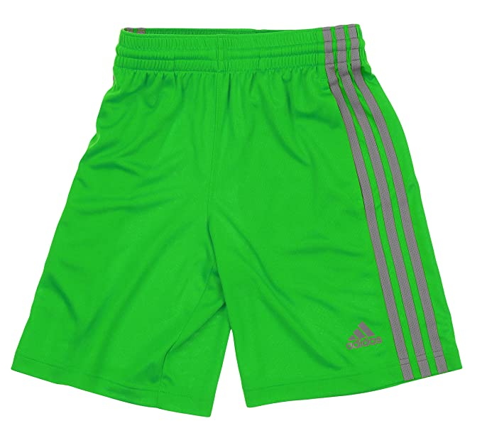 purchase cheap d9ad2 cd1c8 Amazon.com  adidas Big Boys Youth 3-Stripe Performance Shorts  Clothing