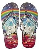 Unicorn Flip Flops - Girls 4-16