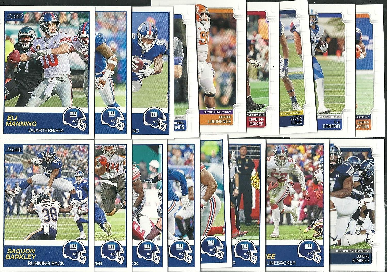 2019 Panini Score 17 Card New York Giants Team Set W