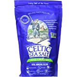 Fine Ground Celtic Sea Salt – (1) 16 Ounce Resealable Bag of Nutritious, Classic Sea Salt, Great for Cooking, Baking, Picklin