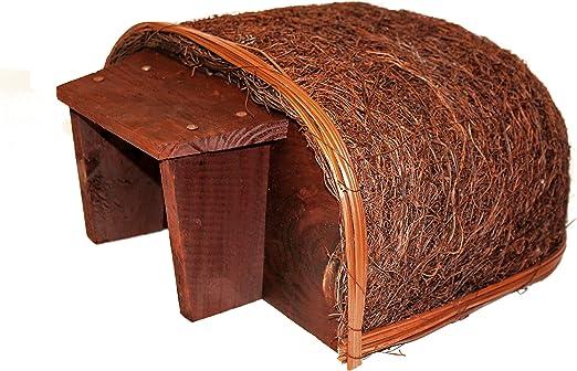 Casa de erizos para jardín al aire libre – proporciona refugio y santuario: Amazon.es: Jardín