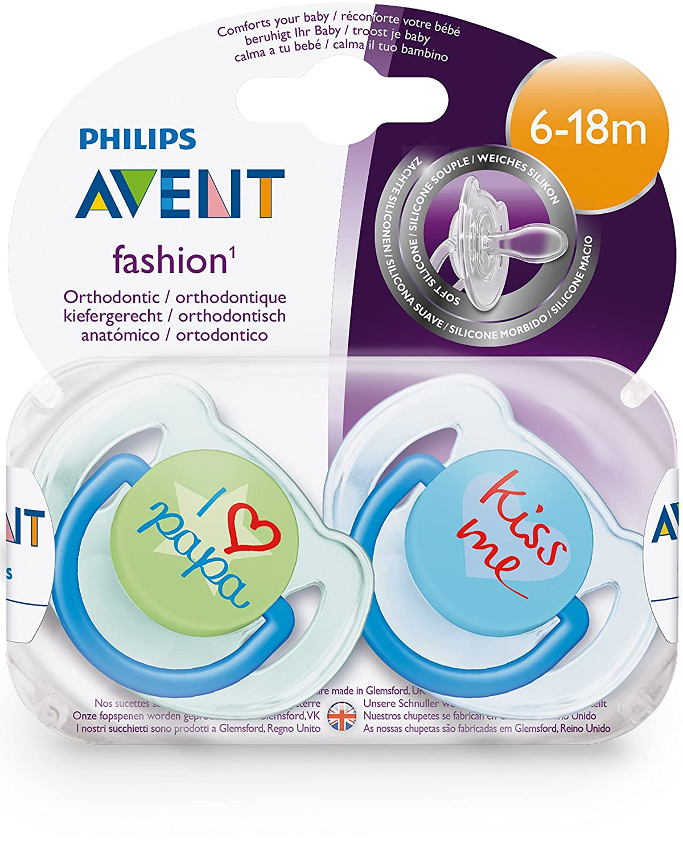 Avent Philips Avent Beruhigungssauger Trend 6-18m (Boys ...