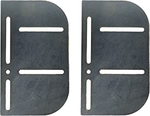 First Choice Brands Headboard Modification Plate Set - Complete with Hardware - 2 Brackets