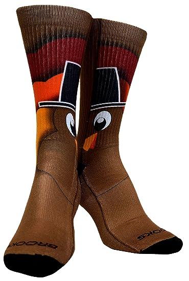 210d733530d Amazon.com  Brooks Turkey Pacesetter Crew Socks  Home   Kitchen