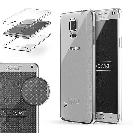 25 opinioni per URCOVER® 360 Grad Case Cover Protettiva | Custodia Samsung Galaxy Note 4 |