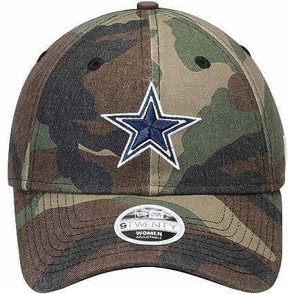 e221ea7d6e496 ... greece dallas cowboys new era womens preferred pick 9twenty adjustable  hat camo 5e2a1 01826 ...