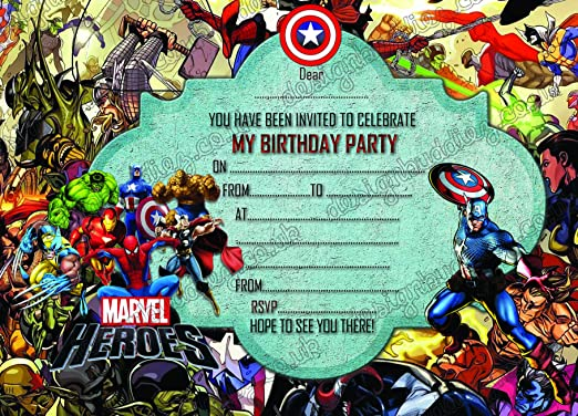 Boys Super Hero, Marvel Hero Super Héroe de Marvel, fiesta ...