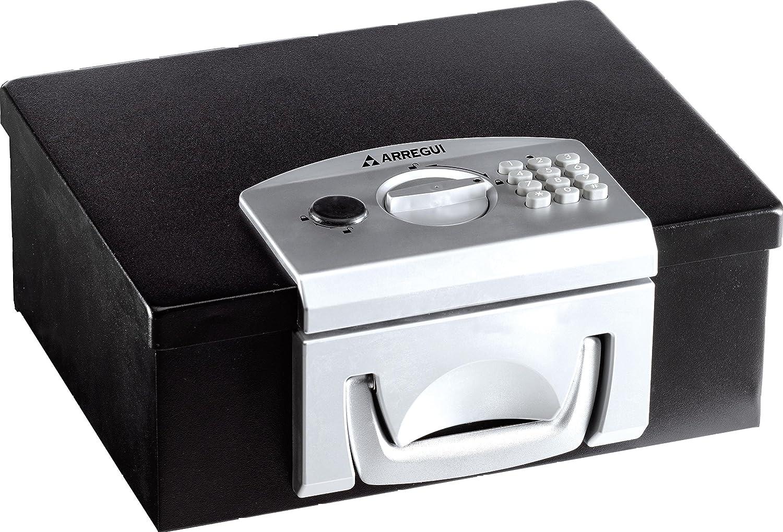 Arregui C9547 Caja de Seguridad Transportable, Negro: Amazon.es: Bricolaje y herramientas